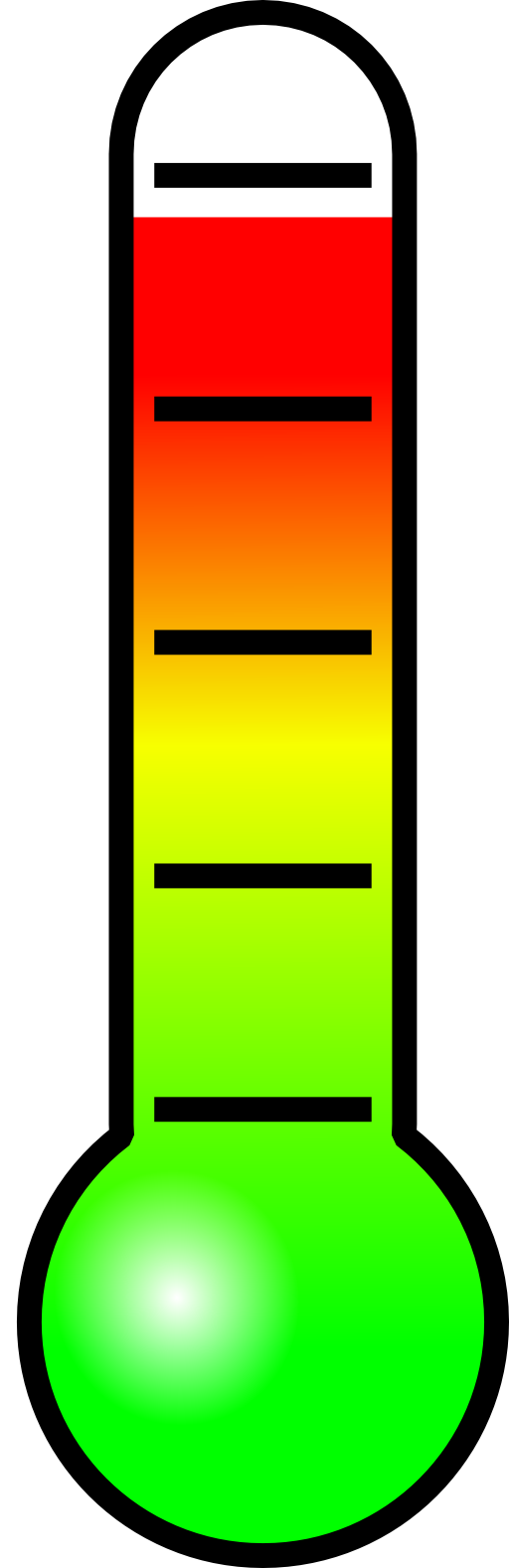 Thermometer Celsius Clipart.