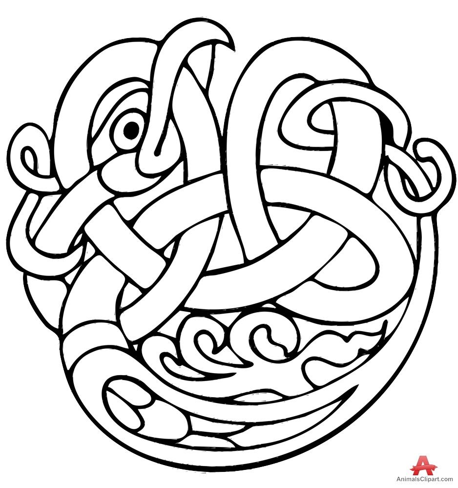 Celtic Animal Cliparts.