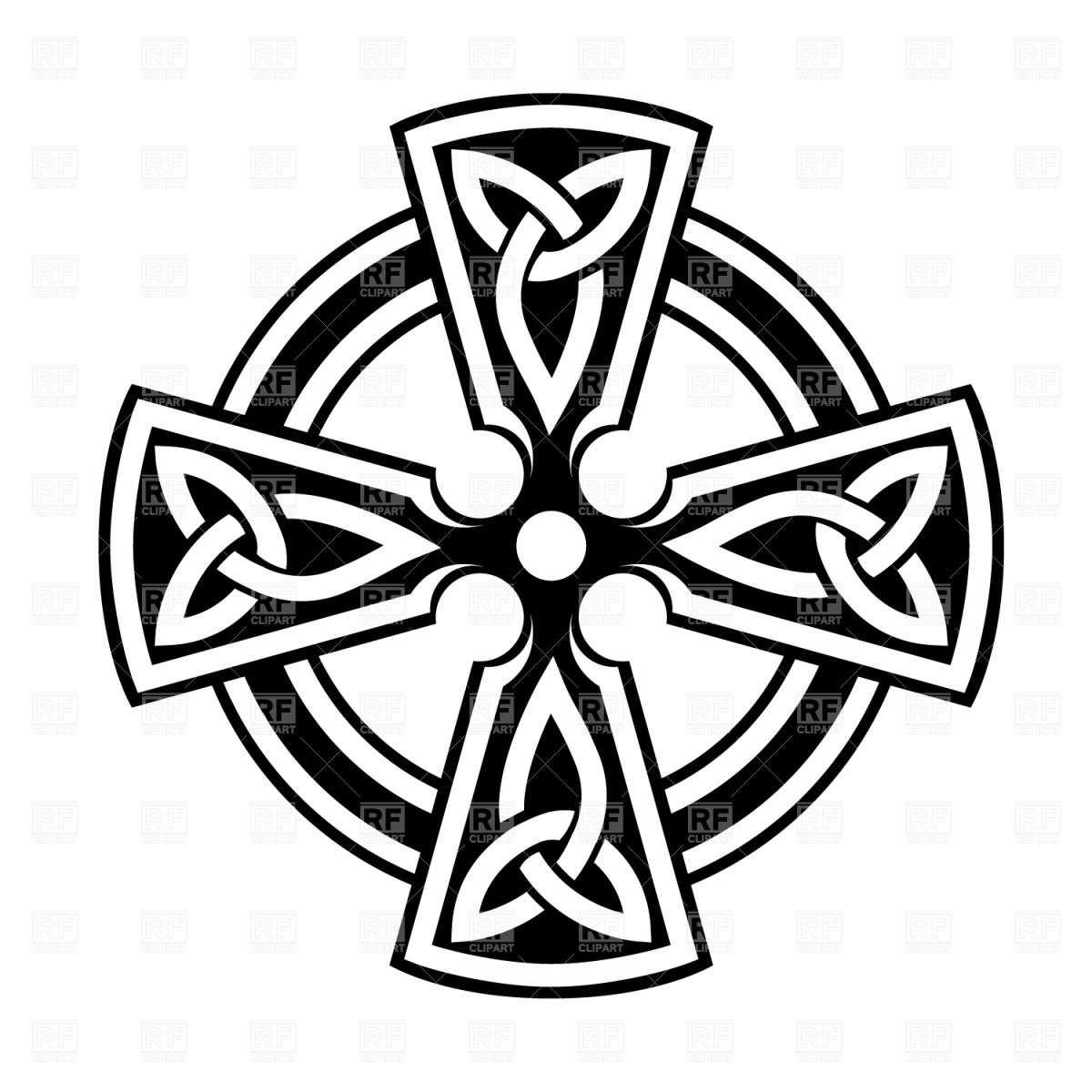255 Celtic Cross free clipart.