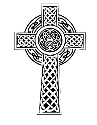Celtic cross clip art free download.