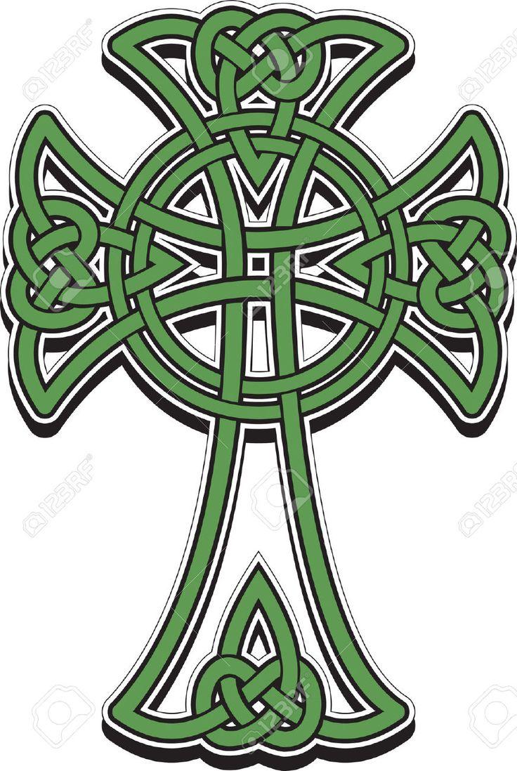 Celtic Crosses Clipart.