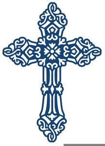 Gold Celtic Cross Clipart.
