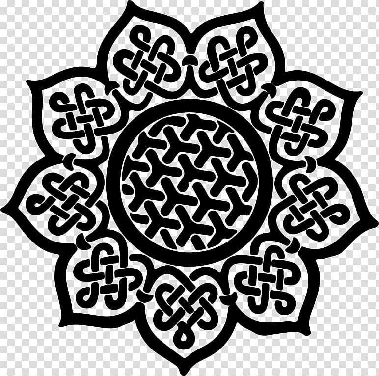Celtic knot Mandala Celts Celtic art Symbol, symbol transparent.