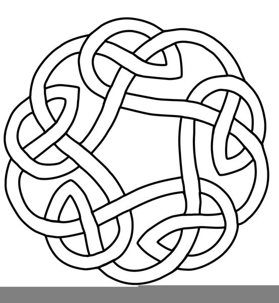 Celtic Knot Circle Clipart.
