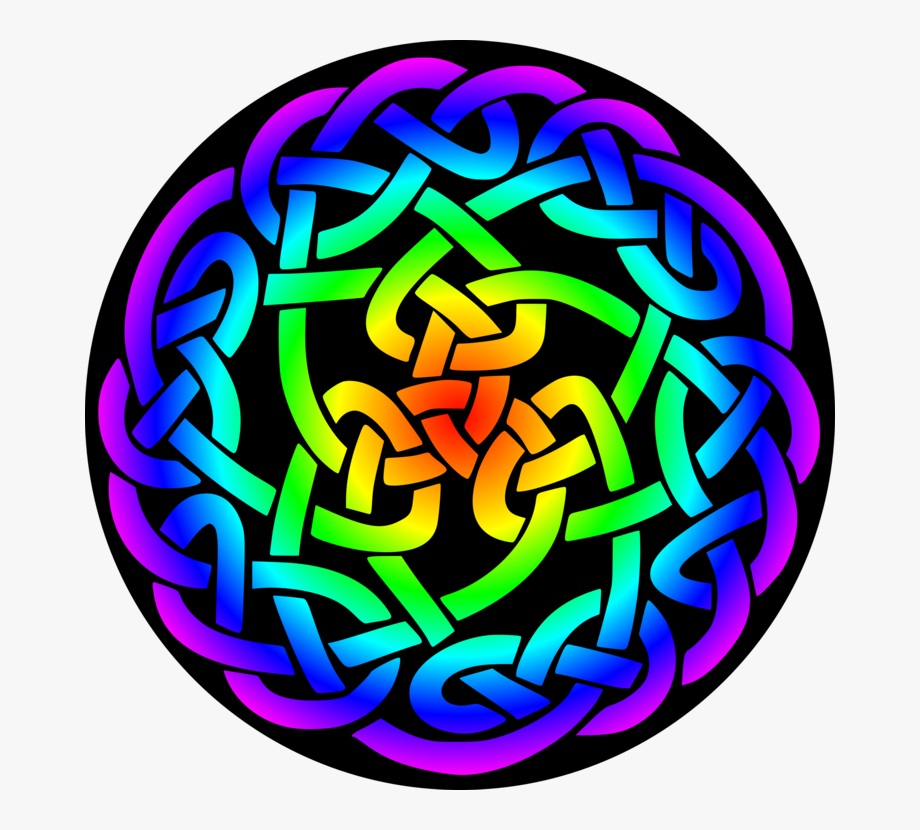 Celtic Knot Clipart Green.