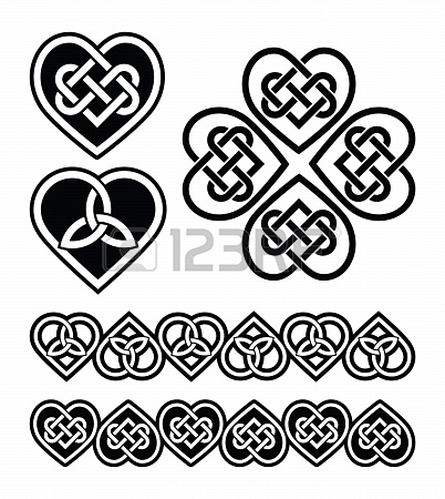celtic knot heart clipart - Clipground