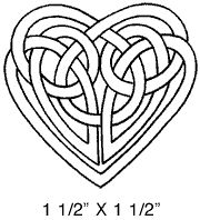 How to draw a celtic knot (or at least one of many ways)..