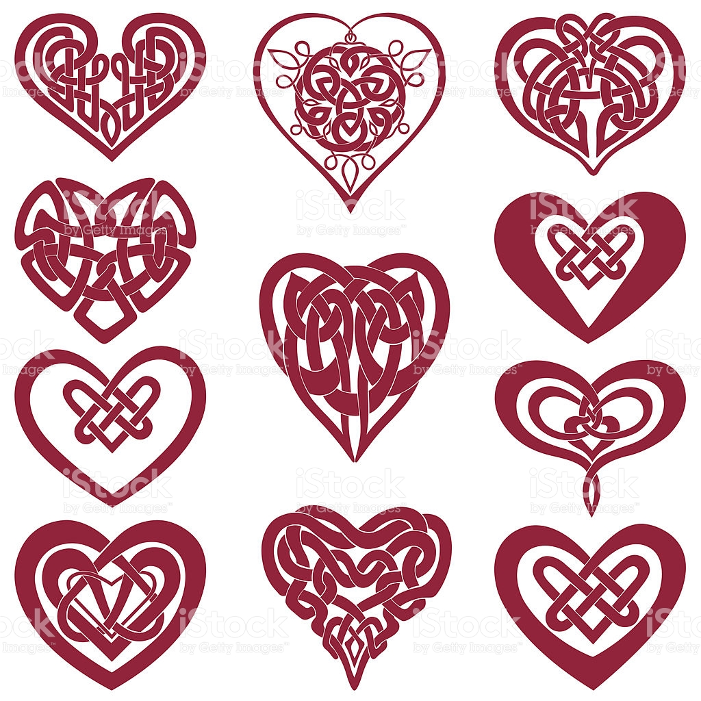 Irish symbols for friendship celtic knot heart clipart clipground biocorpaavc Images