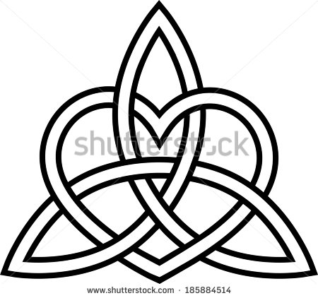 Endless Knot Stock Images, Royalty.