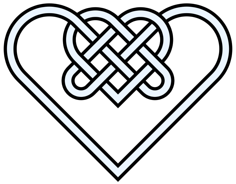 Celtic Knot Heart Clipart Clipground