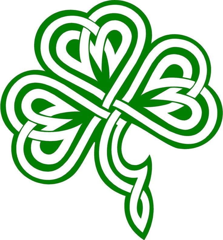 Celtic Shamrock Clipart.