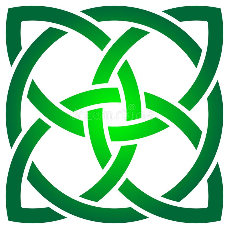 Celtic Shamrock Stock Illustrations.