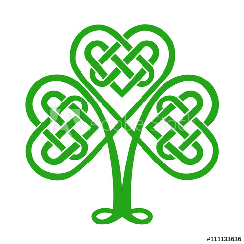 Celtic Shamrock Vector at GetDrawings.com.