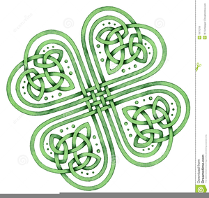 Celtic Shamrock Clipart.