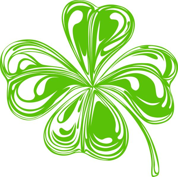 Celtic shamrock clipart clipart best.