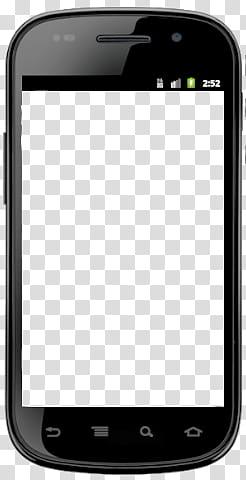 Celular , black smartphone transparent background PNG.