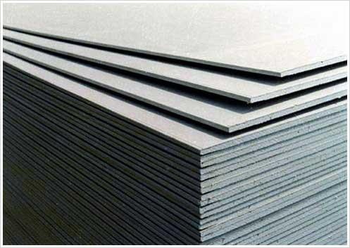 Fiber cement board.
