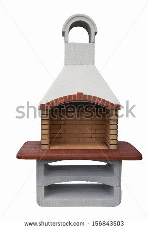 Brick Barbecue Stock Photos, Royalty.