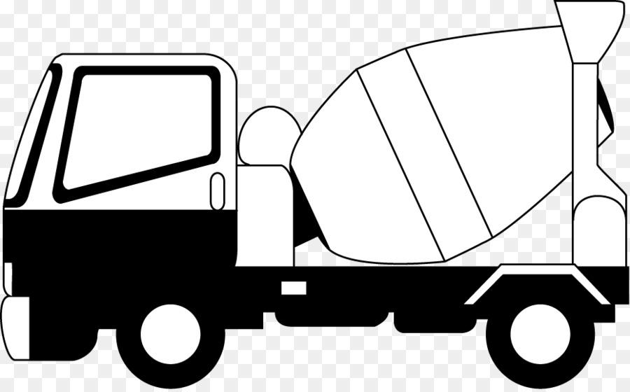 Car Concrete mixer Truck Clip art.