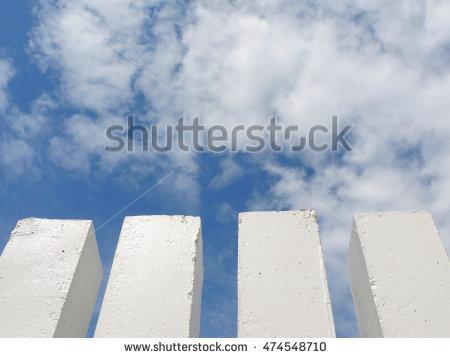 Concrete Pole Stock Photos, Royalty.