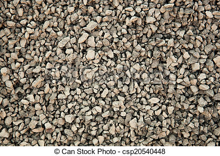 Stock Photo of texture of cemented stones of granite closeup.