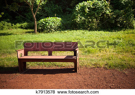 Pictures of cemented bench in ground k7913578.