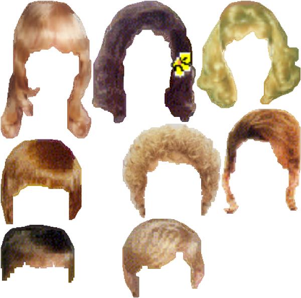 Style Hair Clipart cheap.