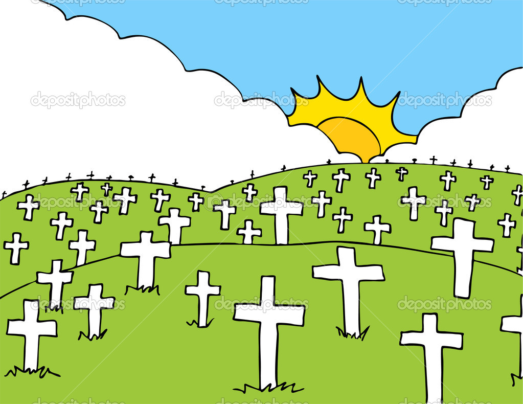 Cemetery clipart - Clipground