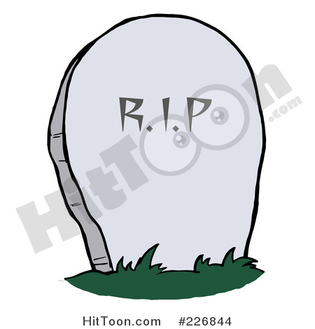 Cemetery Clipart #1.