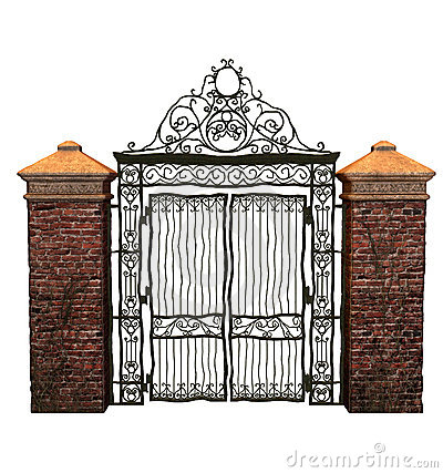 Iron Gate Clipart.