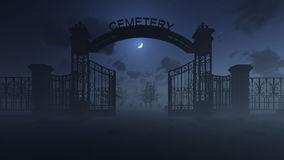 Cemetery Gates Stock Photos.