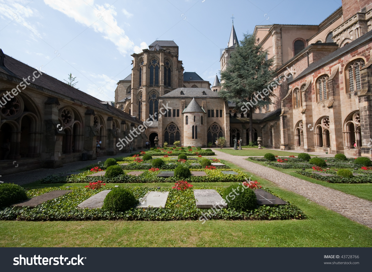 Cemetery In The Courtyard Of The Cathedral Of Saint Peter (Trier.