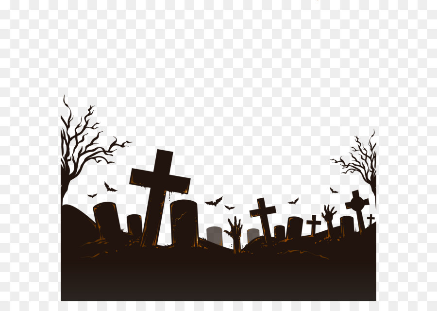 Halloween Pattern Background png download.