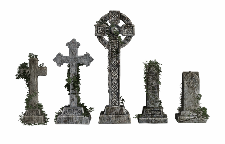Cemetery Tombstone Celtic Stone Cross The Tomb Of.