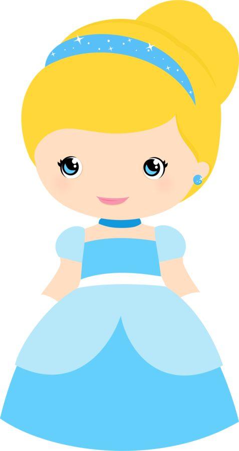 Baby Cinderella Clipart.