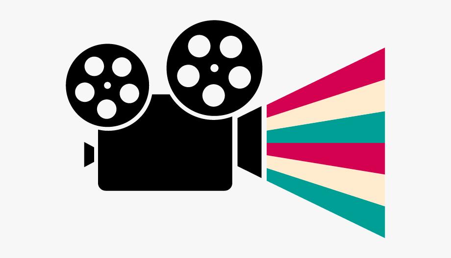 Cinema Clipart Female Movie Director.