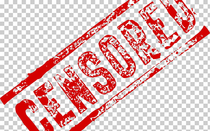 Censorship Logo Internet Brand Copyright, censored PNG.
