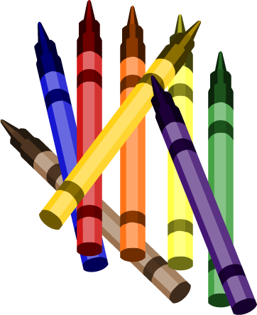 census clipart #crayons.