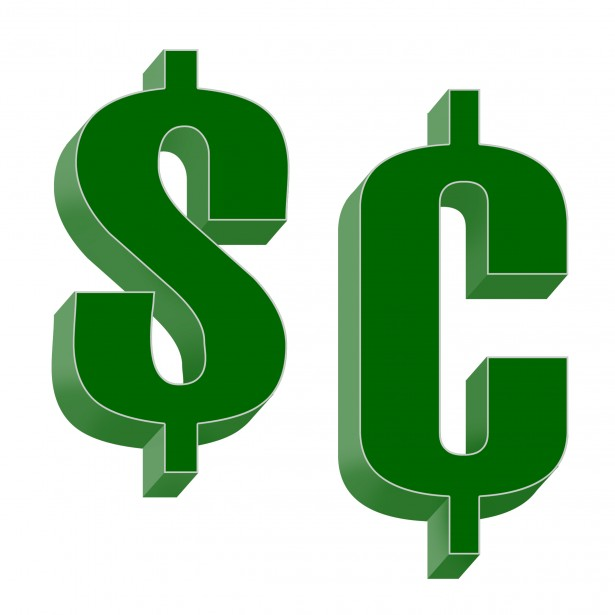 Dollars And Cents Free Stock Photo.