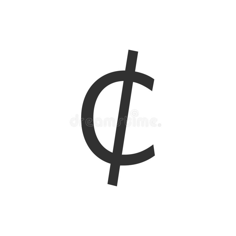 Cent Sign Stock Illustrations.