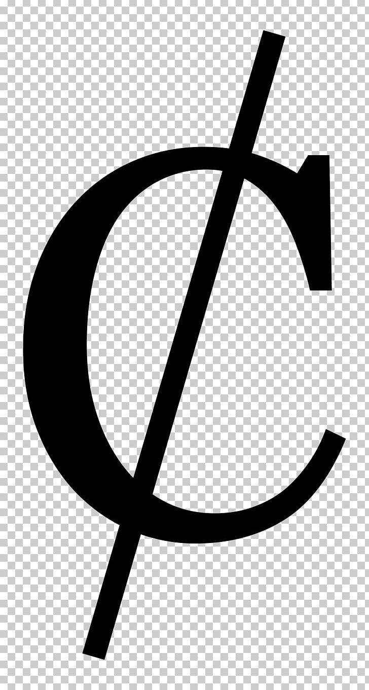 Cent Symbol Penny PNG, Clipart, Angle, Black And White, Brand, Cent.
