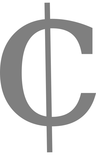 Free Cent Symbol Png, Download Free Clip Art, Free Clip Art on.