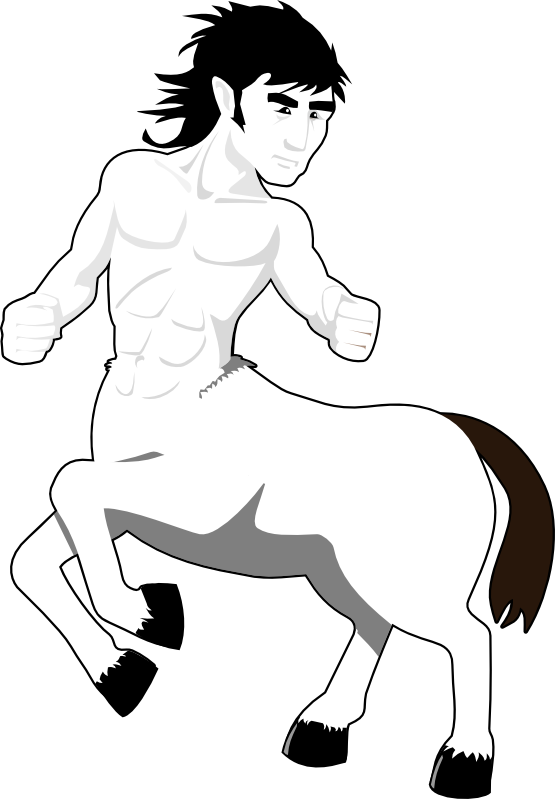 Centaur Clipart.