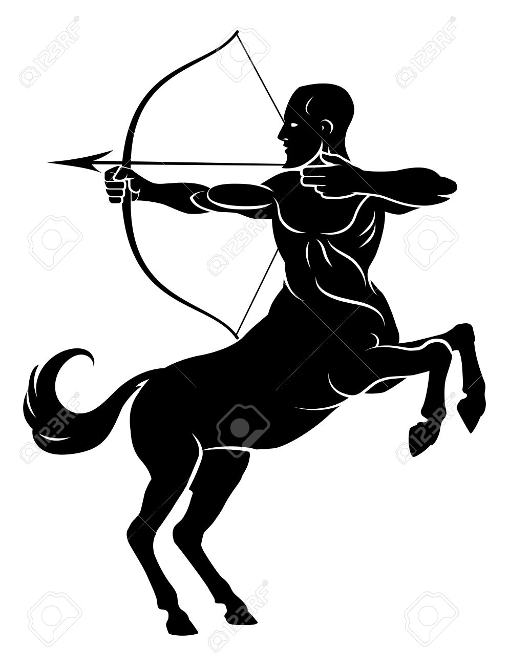 1,295 The Centaur Stock Vector Illustration And Royalty Free The.