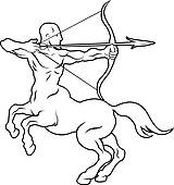 Centaur Clip Art.