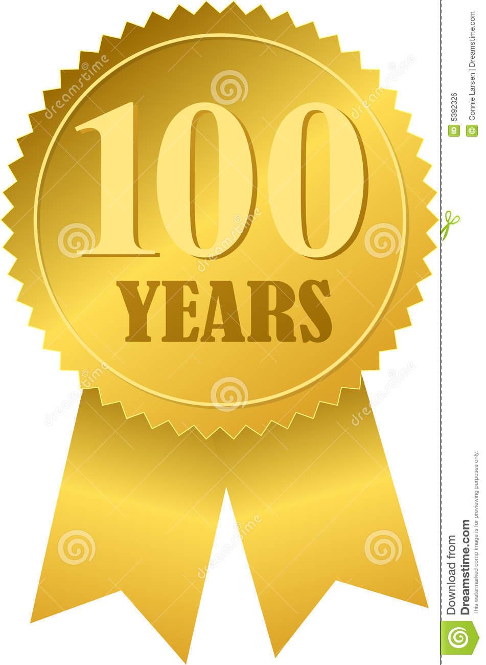 Centennial Seal And Ribbon Eps Royalty Free Stock Image Image.