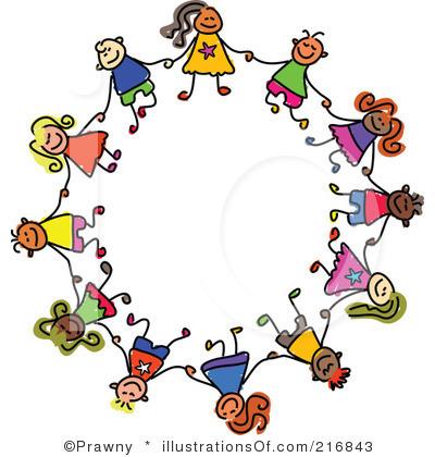 Preschool Circle Time Clipart.