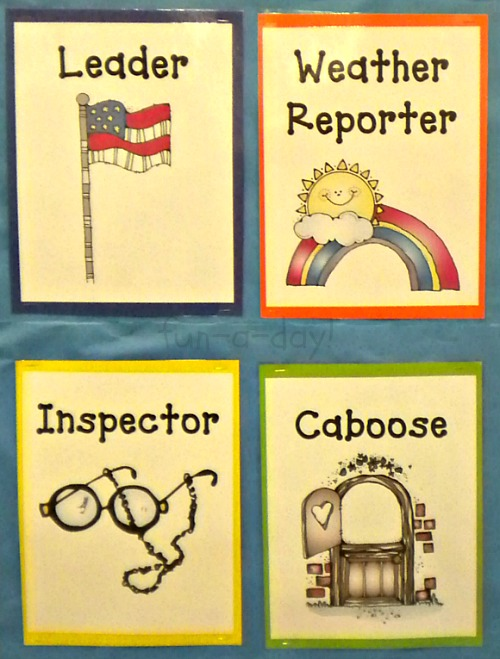 Center Inspector Clipart Job Chart.