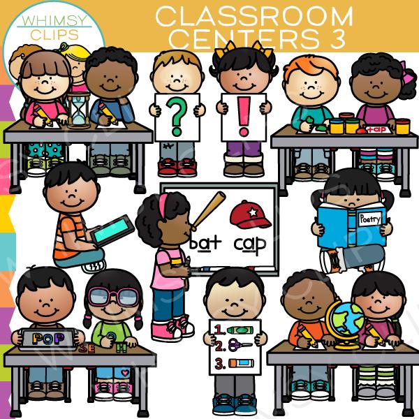 Classroom centers clip art , Images & Illustrations.