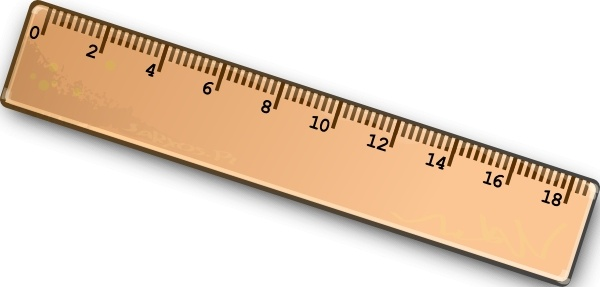 Ruler clip art Free vector in Open office drawing svg ( .svg.